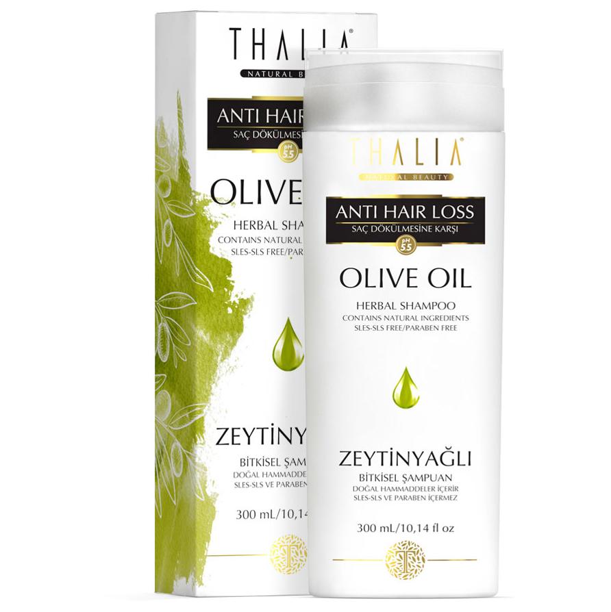 thalia oliven l shampoo 300 ml thalia kosmetik. Black Bedroom Furniture Sets. Home Design Ideas